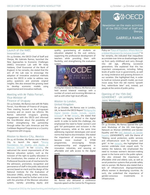 GR Newsletter 23-31 October