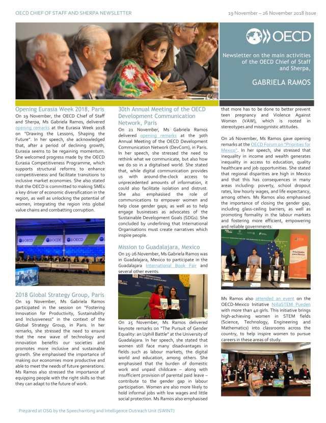 GR Newsletter 19 - 26 November-1