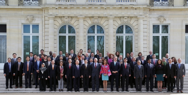 11March 2019 -Family Photo of Southeast Asia Regional Forum Photo : © HervŽ Cortinat / OECD